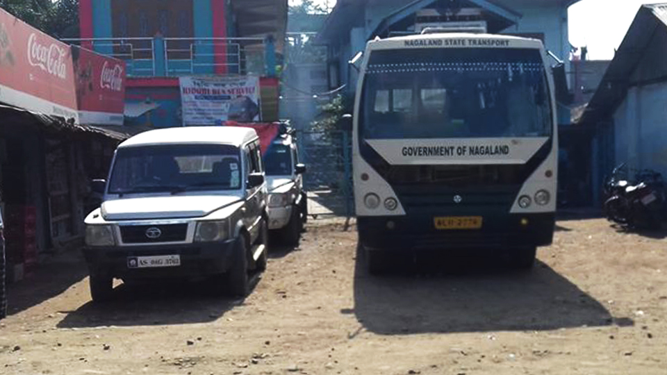 Simaluguri to Mon of Nagaland, regional taxi and buses are available