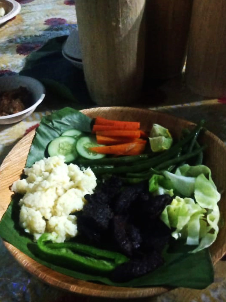 Nagaland food is delicious with wide variety of menu.