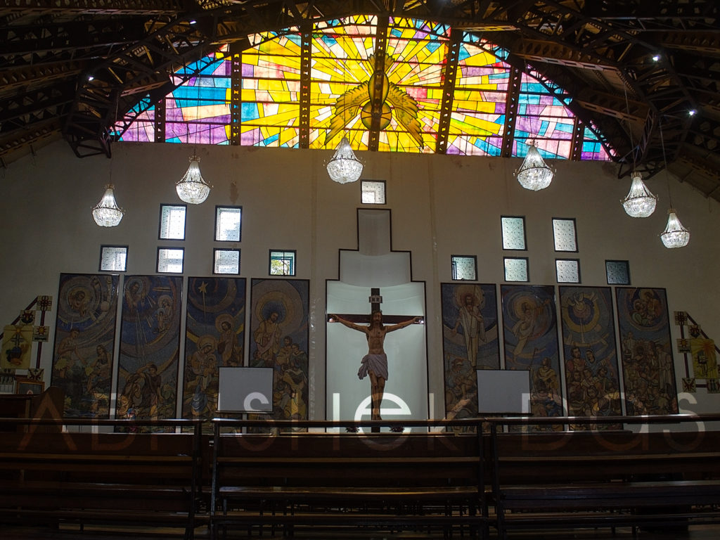 Biggest Jesus Christ cross at Cathedral Church of Kohima