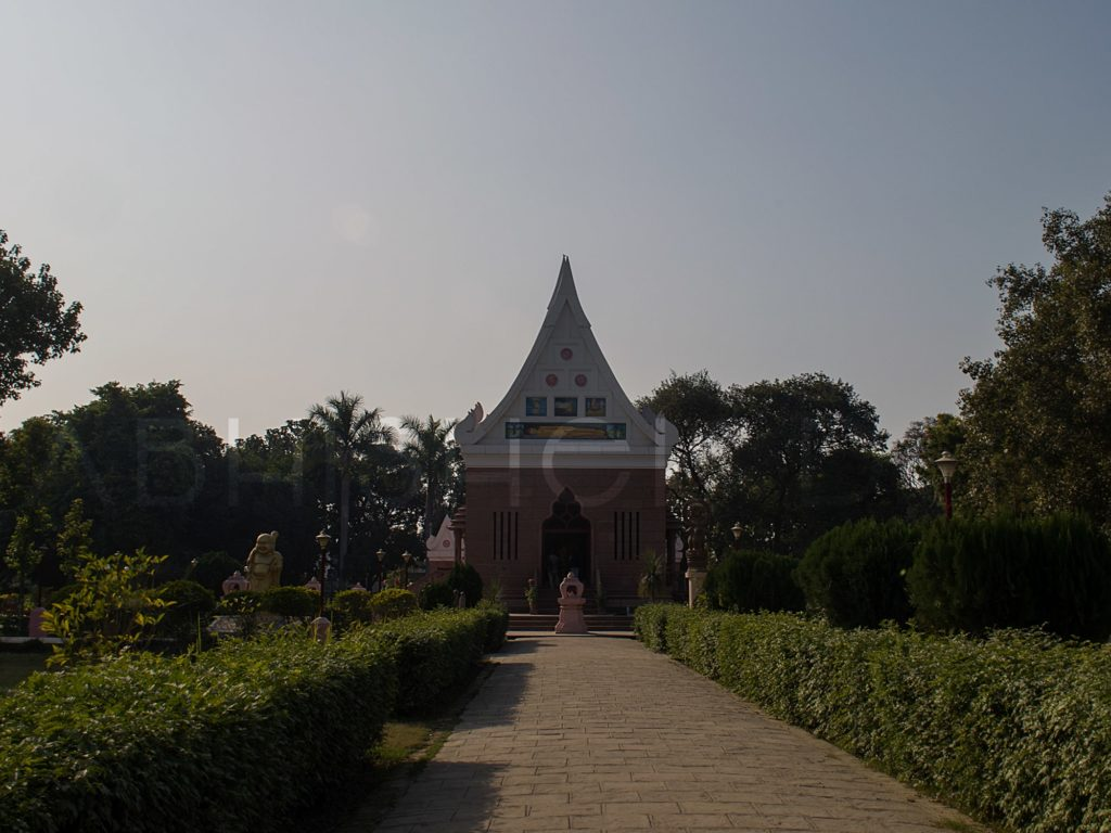 Wat Thai Temple-  Sarnath - In The Esteemed Preachings Of Lord Buddha