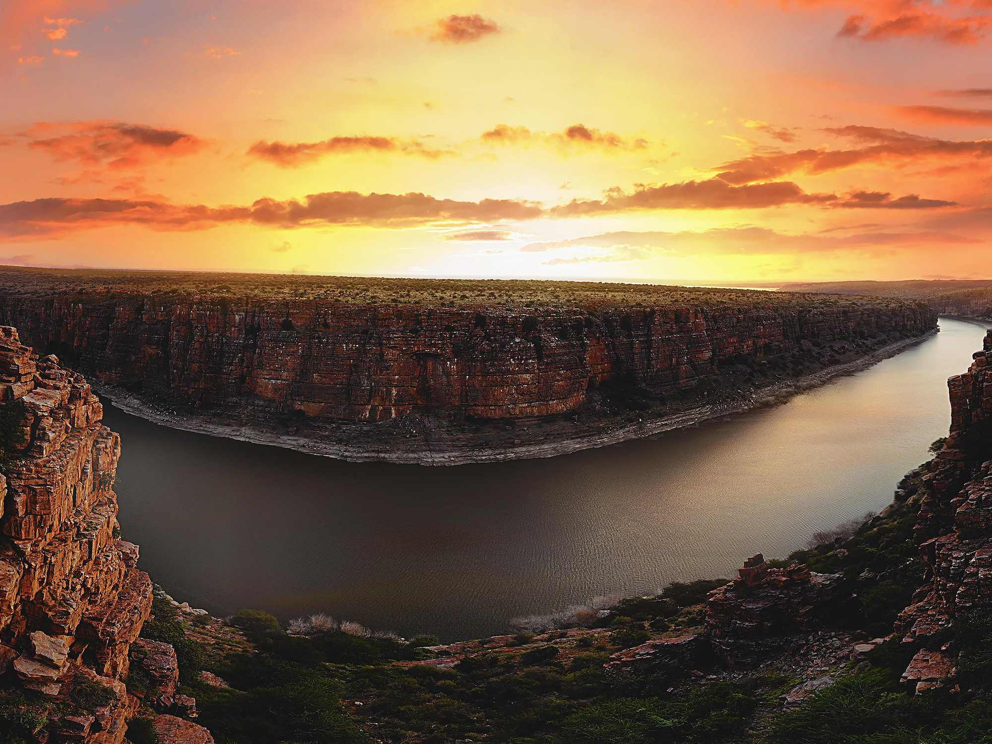 India's Own Grand Canyon-The Gandikota Village